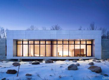 Nét đẹp rộng mở và sang trọng của căn nhà bằng gỗ tại New York, Mỹ