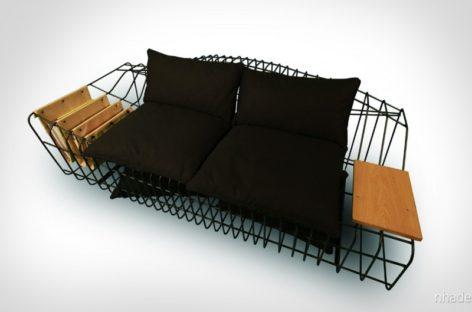 Tạo không gian thư giãn thoải mái nhờ chiếc ghế Sofist