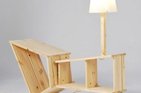 Bộ sưu tập kệ sách của Kenyon Yeh – Biến tấu độc đáo từ những vật dụng nội thất IKEA