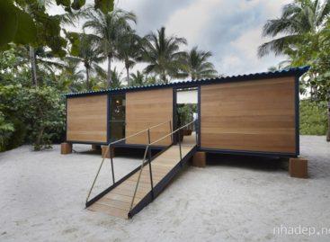 Nhà sàn xinh đẹp bên bờ biển Miami