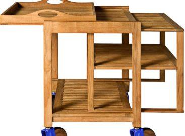 Thiết kế gọn nhẹ và linh hoạt của xe đẩy thức ăn Trick Trolley