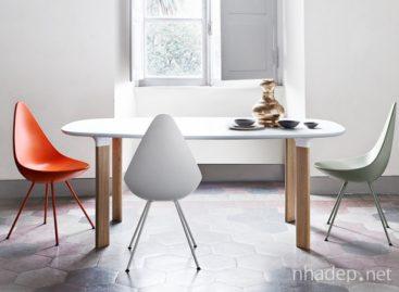Sự kết hợp hoàn hảo giữa bàn Analog và ghế Drop
