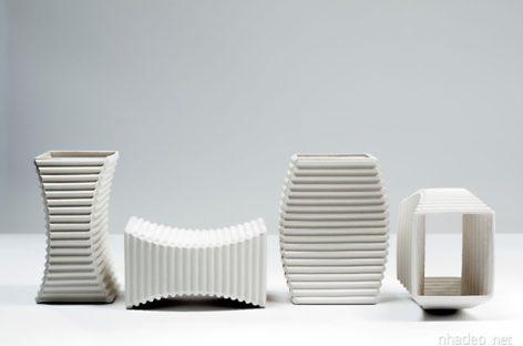 Các sản phẩm gốm sứ sáng tạo của nhà thiết kế Keith Varney