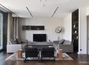 Căn hộ penthouse Belgrade với vẻ đẹp tinh tế