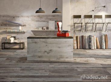 Dakota – Bộ sưu tập gạch ceramic giả gỗ của hãng thiết kế Flaviker
