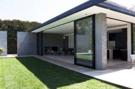 Không gian mở xuyên suốt trong thiết kế Mosh House