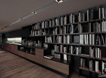 Thiết kế nội thất cá tính trong gam màu tối của Tanju Özelgin