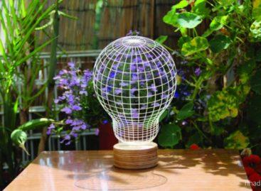 BULBING – Thiết kế đèn linh hoạt giữa kiểu dáng 2D và 3D