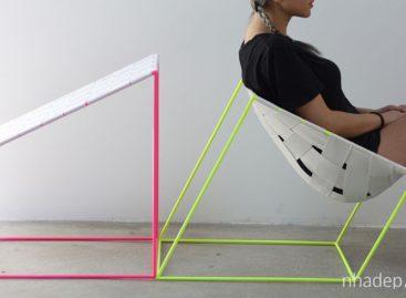 Sự độc đáo trong kiểu dáng của ghế Conform