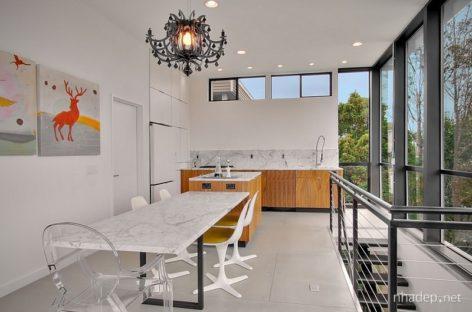 Phòng ăn hiện đại với những ý tưởng tinh tế và tối giản (Phần 2)