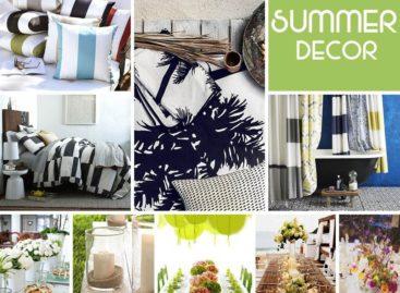 Trang trí không gian nội – ngoại thất cho mùa hè