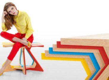 Side table đa năng làm từ gỗ sồi của Bim Burton