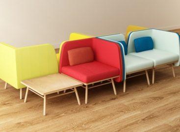 Thiết kế ghế Bi Silla đầy màu sắc của Silvia Ceñal