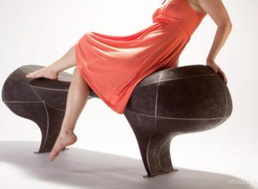 Bộ sưu tập ghế điêu khắc Infrastructure dành cho không gian ngoài trời