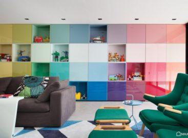 Kết cấu không gian nhiều màu sắc của ngôi nhà DM tại Brazil