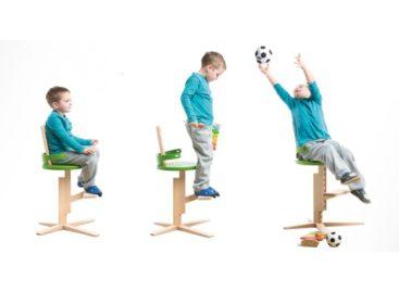 Ghế gỗ Froc đáng yêu dành cho bé