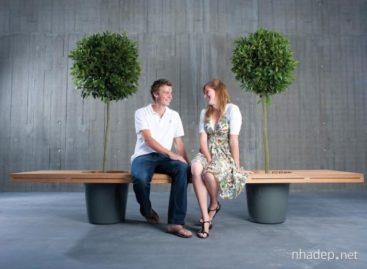 Tô điểm không gian xanh cho đường phố với ghế dài Romeo & Juliet