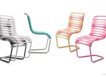 Bộ sưu tập ghế Bounce đầy màu sắc của Karim Rashid