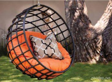 10 kiểu ghế treo sáng tạo cho không gian ngoài trời