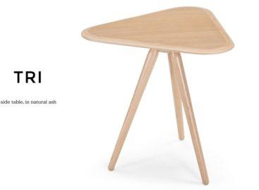 Tiết kiệm không gian với side table Tri hình tam giác tiện lợi