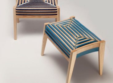 Ấn tượng với thiết kế ghế gỗ xen kẽ bọc nệm nhựa