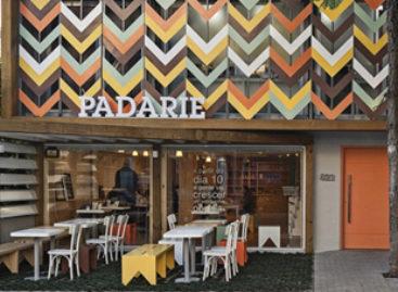 Không gian kiến trúc đầy màu sắc của Pandarie Cafe