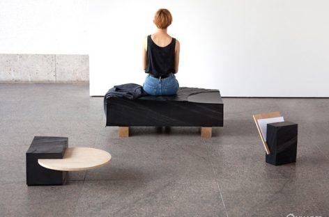 Bộ sưu tập nội thất đa năng bằng đá thiết kế bởi Natalie Weinmann