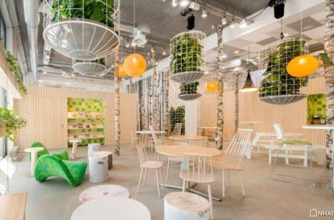 Trung tâm thương mại 't Park độc đáo được thiết kế bởi Cube Architecten