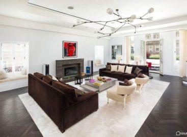 Penthouse lộng lẫy, sang trọng tại Carhart Mansion, Manhattan, New York