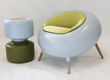 Chiếc ghế Acari mang sự tươi vui đến với không gian nội thất hiện đại