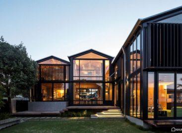 Ngôi nhà gỗ Boatsheds tại New Zealand