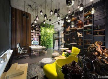 Văn phòng & showroom của công ty Architectural Workshop Sergey Makhno