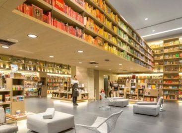 Thư giãn trong không gian của tri thức tại nhà sách Saraiva, Brazil (Phần 1)