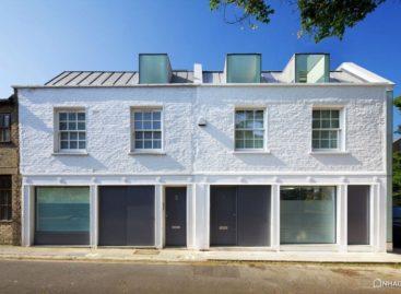 Thiết kế đẹp mắt của ngôi nhà Mews House Primrose Hill