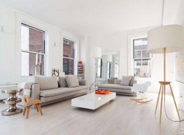Thiết kế hiện đại của căn hộ trên đại lộ số 5, New York