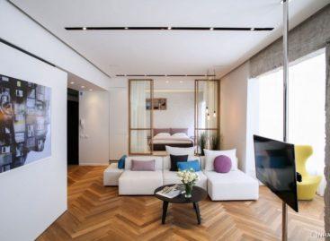 Vẻ đẹp đơn giản của căn hộ Tlv Rothschild Blvd