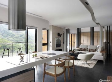 Chiêm ngưỡng thiết kế hiện đại của căn hộ tại Đài Bắc