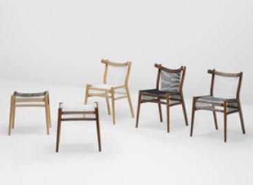 Thiết kế đẹp mắt của bộ sưu tập ghế Loom tại London