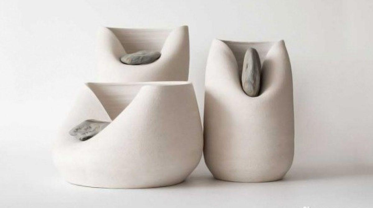 Lạ mắt với thiết kế lọ gốm của Martín Azúa