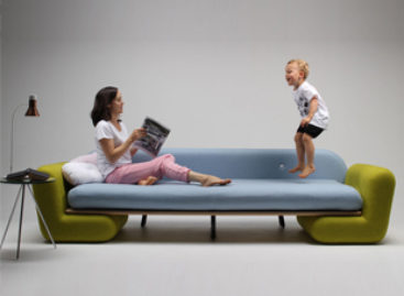 Chiếc ghế Inclusion Couch vui nhộn của nhà thiết kế Marvin Reber