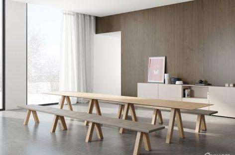 Thiết kế đồ nội thất bằng gỗ theo phong cách tối giản