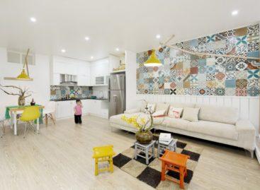 Căn hộ tái định cư 83 m2 đẹp sau khi sửa