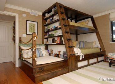 Chiếc giường tầng độc đáo dành cho phòng trẻ em