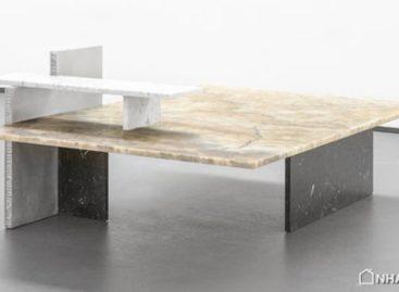 Sự kết hợp ấn tượng các vật liệu xây dựng trong nghệ thuật điêu khắc