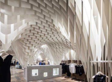 Thiết kế tiết kiệm không gian của cửa hàng SND tại Trùng Khánh