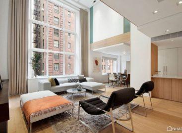 Thiết kế ấm áp của một căn hộ tại New York