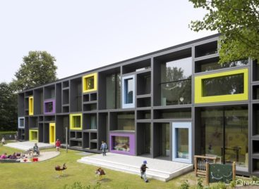 Thiết kế đẹp mắt và đầy sắc màu của một nhà trẻ tại Hamburg