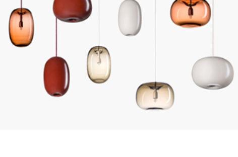 Bộ sưu tập đèn trần hình đá cuội của Joel Karlsson