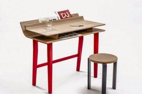 Giới thiệu chiếc bàn giấy đẹp mắt của Lucie Koldova