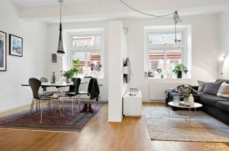Căn hộ đầy lôi cuốn ở trung tâm Gothenburg